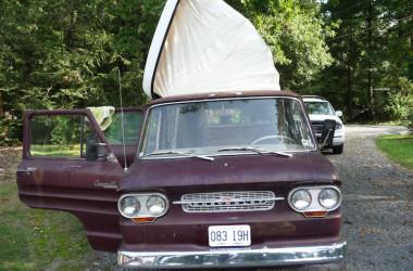 Corvair camper