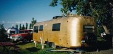 Golden Avion trailer in 1970
