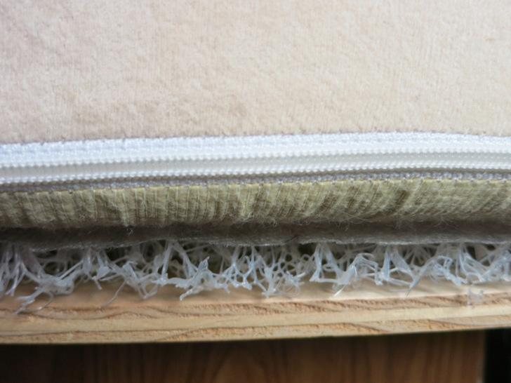 HyperVent underneath RV mattress