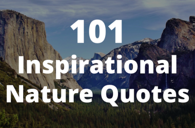Inspirational nature quotes