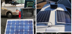 Installing RV solar power