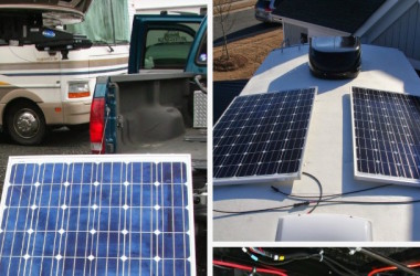 Installing RV solar power