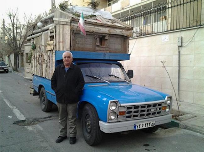 Iran truck camper