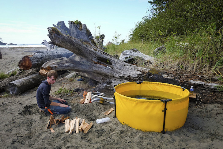 Nomad camping tub