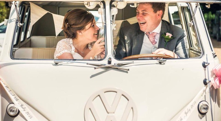 Vintage Campervan Wedding Rentals are a Hit in the UK