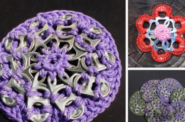 How To Crochet A Pop Tab Coaster