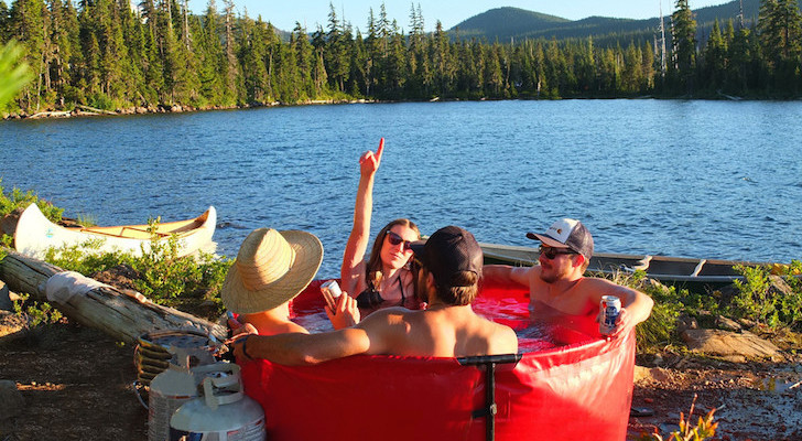 Portable Paradise: Inflatable Hot Tub For A Spa-Like Camping Experience