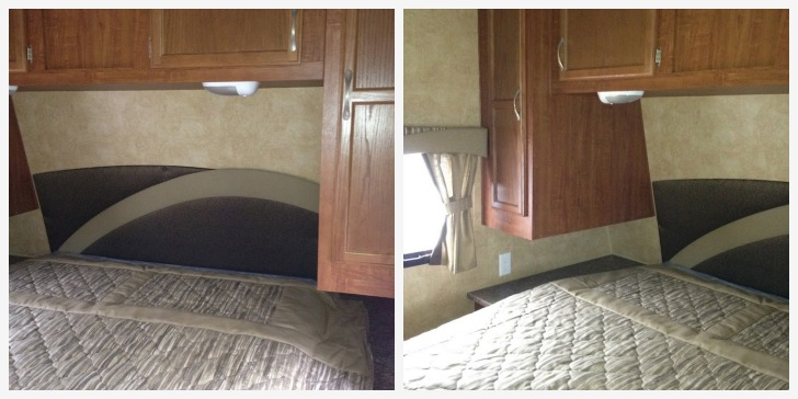 RV bedroom redesign