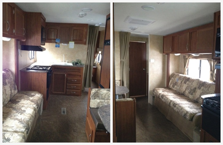 How To Use Bright Accent Colors Improve An RVs Interior