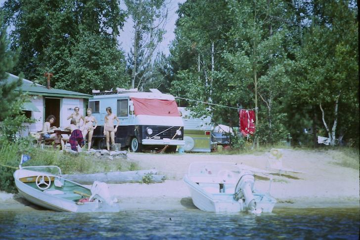 Rice Lake camping