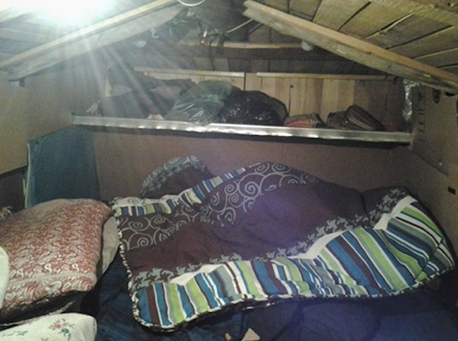 Sleeping quarters