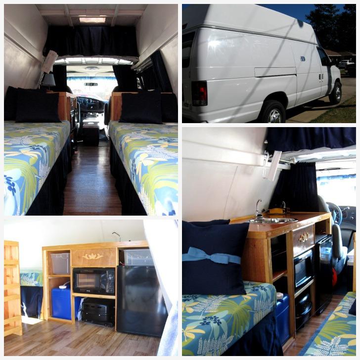 Small RV from box van