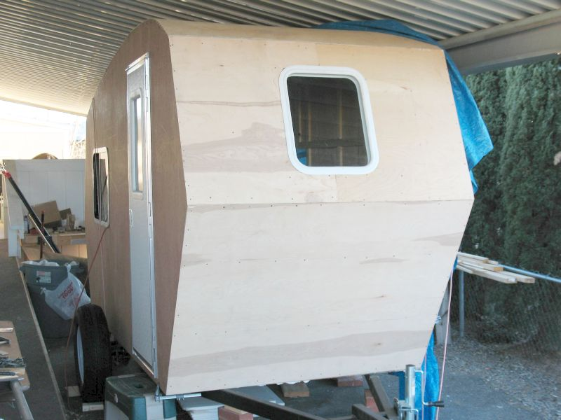Build a 1 400 lb stand up camper for under 4 000 for How to build a motorhome plans