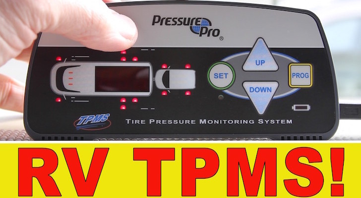 Improve RV Safety With A Tire Pressure Monitoring System (TPMS)