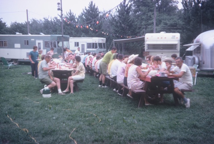 Weekend Wanderers Club circa 1970