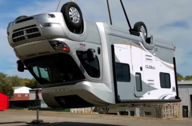 Winnebago drop test