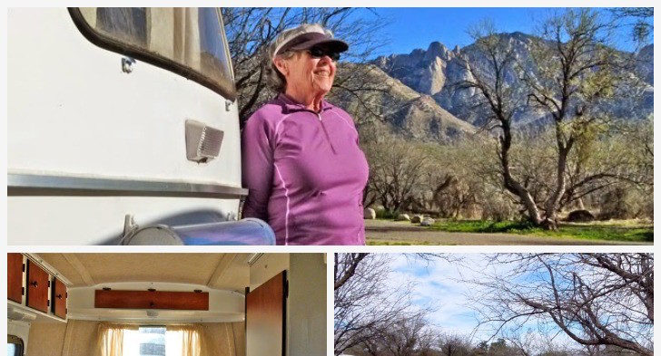 Traveling Nurse Buys 13 Foot Scamp Trailer For Winter Camping