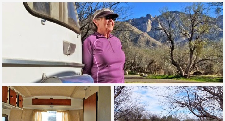 Traveling Nurse Buys 13 Foot Scamp Trailer To Winter Camp