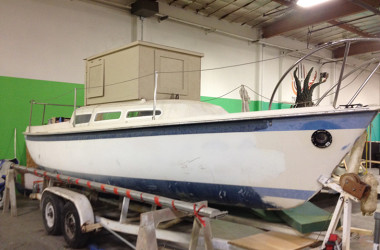 Man Builds Burning Man RV Out Of A Used Sailboat