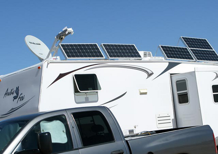weigh your RV trailer truck combo