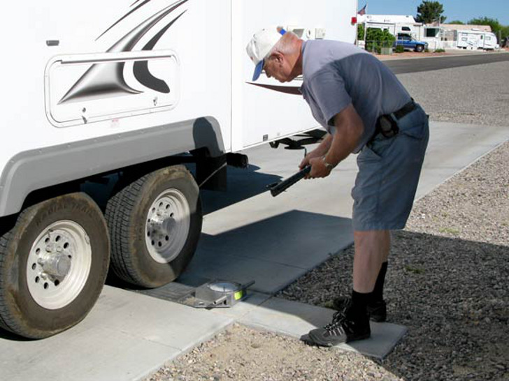 how to weigh your RV
