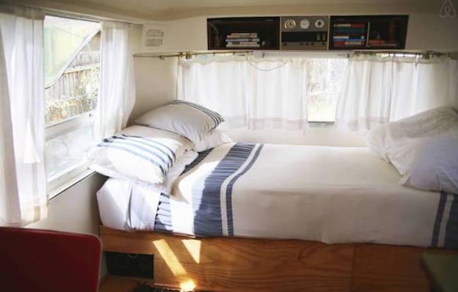 Airstream lounge