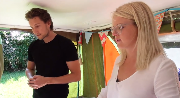 She Turned A Pop Up Camper Into A Low-Rent, New Zealand Home