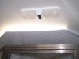 Homemade Light Blocker For A Shower Skylight Vent Made From Aluminum J Channel