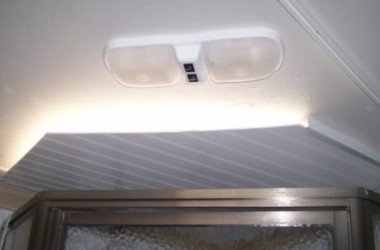 Homemade Light Blocker For A Shower Skylight Vent Made From Aluminum J Channel