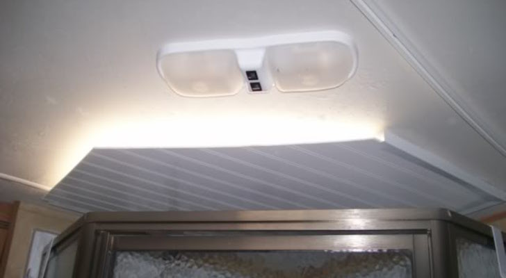 Homemade Light Blocker For A Shower Skylight Vent