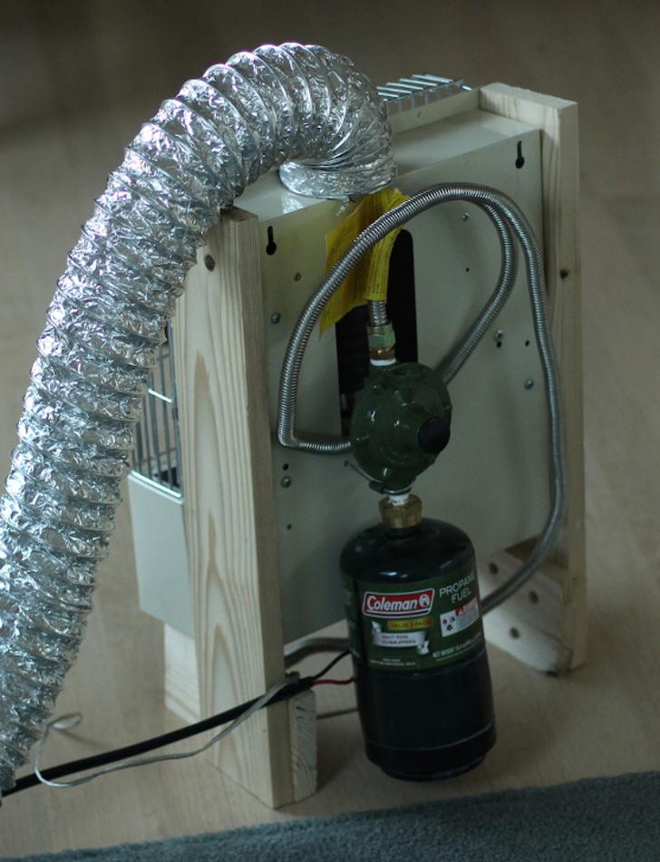 Easy Catalytic RV Heater Mod