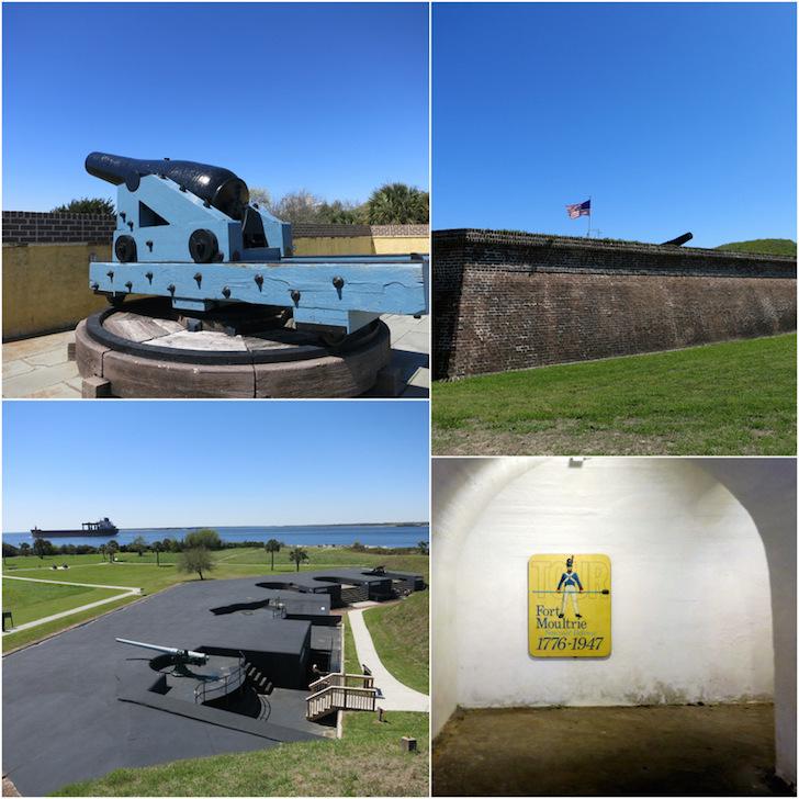 Charleston forts