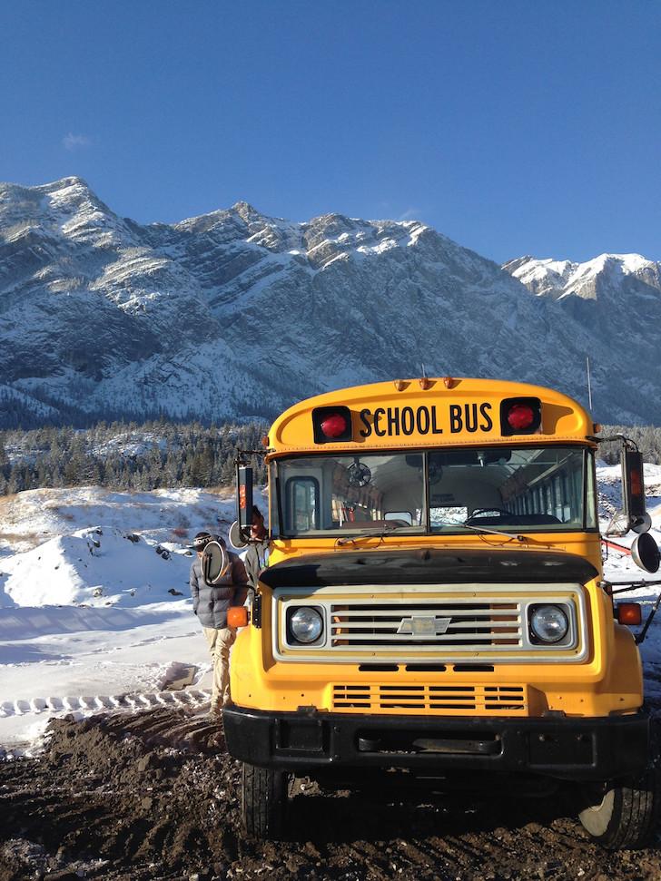 Chevy Bluebird bus