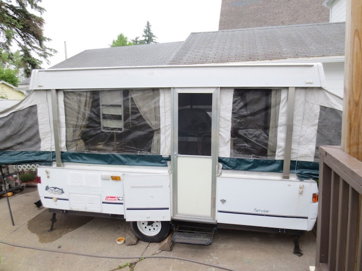 How To Renovate A Pop Up Trailer For Under 100