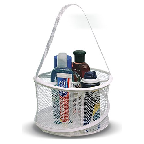 Collapsible shower tote