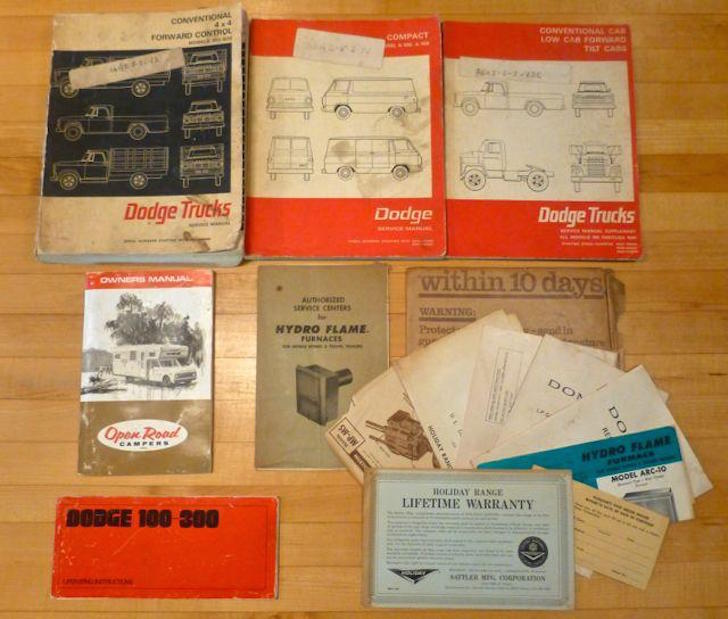 D300 Dodge paperwork