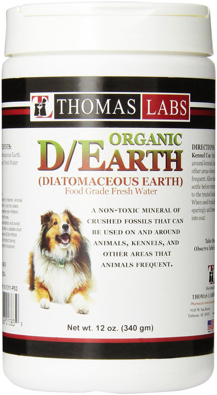 Diatomaceous earth prevents fleas in the RV