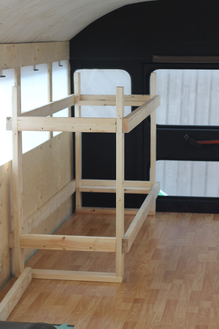 DIY RV bunk