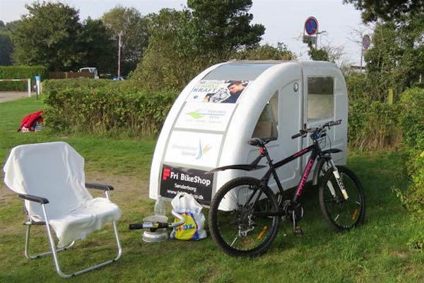 Front of Wide Path Camper