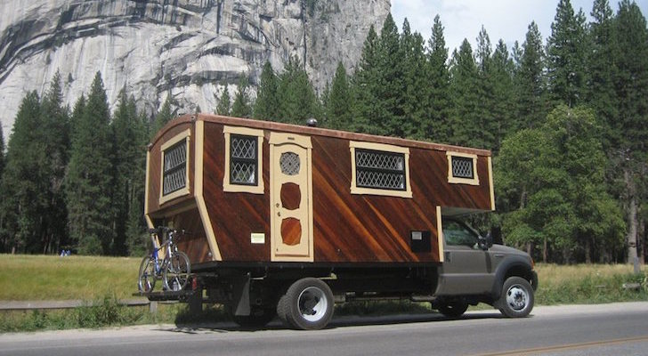 This Handmade Truck Camper Will Make You Feel Like You're Living In A Yacht