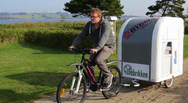 There's Something Unique About This Bicycle Camper That Space-Conscious Campers Will Love