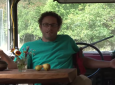 Man who lives in a bus
