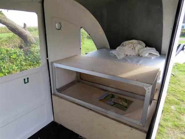 Micro camper interior