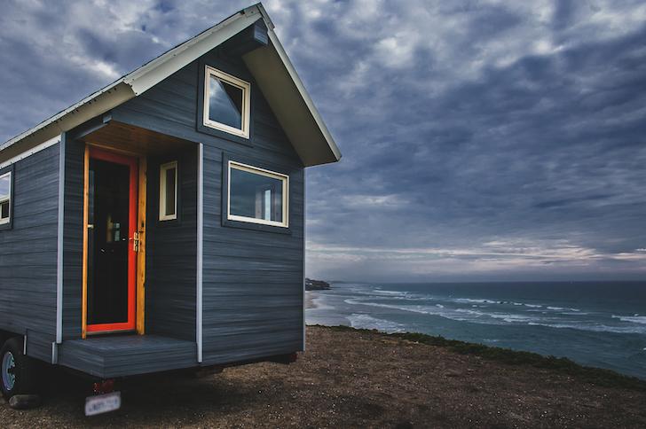 Monarch tiny house exterior