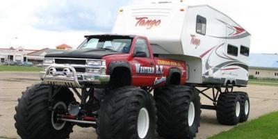 Monster truck RV