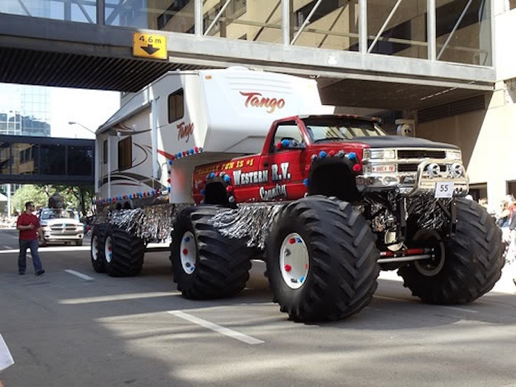 Moster truck RV