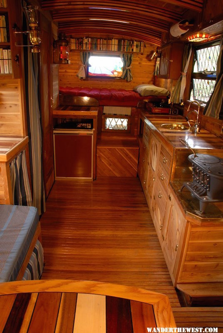 Motorhome living area