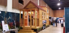 Tiny Mountain Houses' 255 Square Foot Mt. Everest Model Made From Knotty Pine