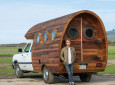 Patagonia's Worn Wear Wago Made from Recycled Wine Barrels