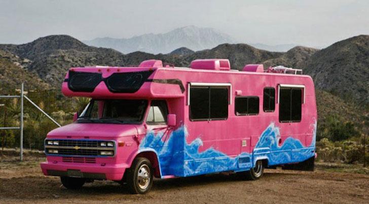 Pink RV